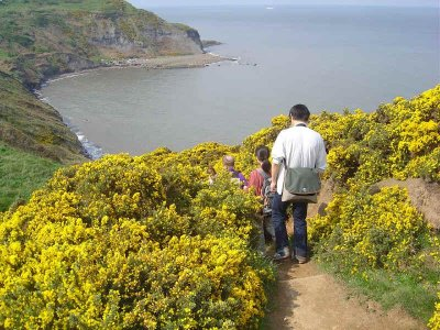 This week we`re off to Staithes to Whitby.